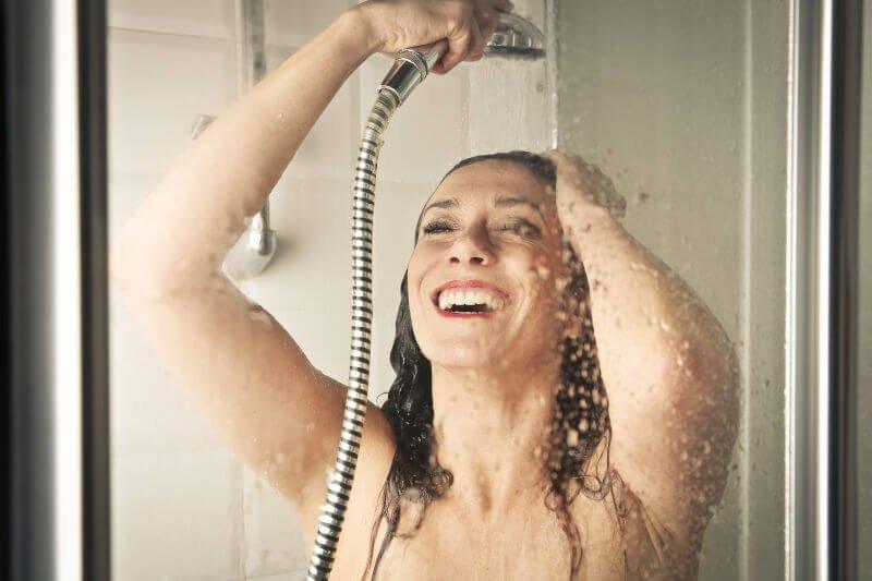 El estado del agua en la ducha